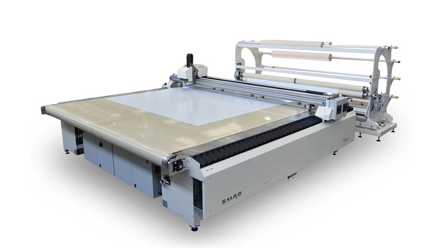 Digital Cutting Plotter with Conveyor Belt Image
