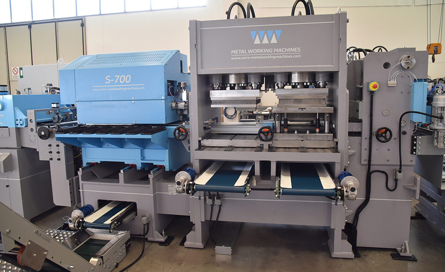 Hydraulic Presses for Coil Processing Image