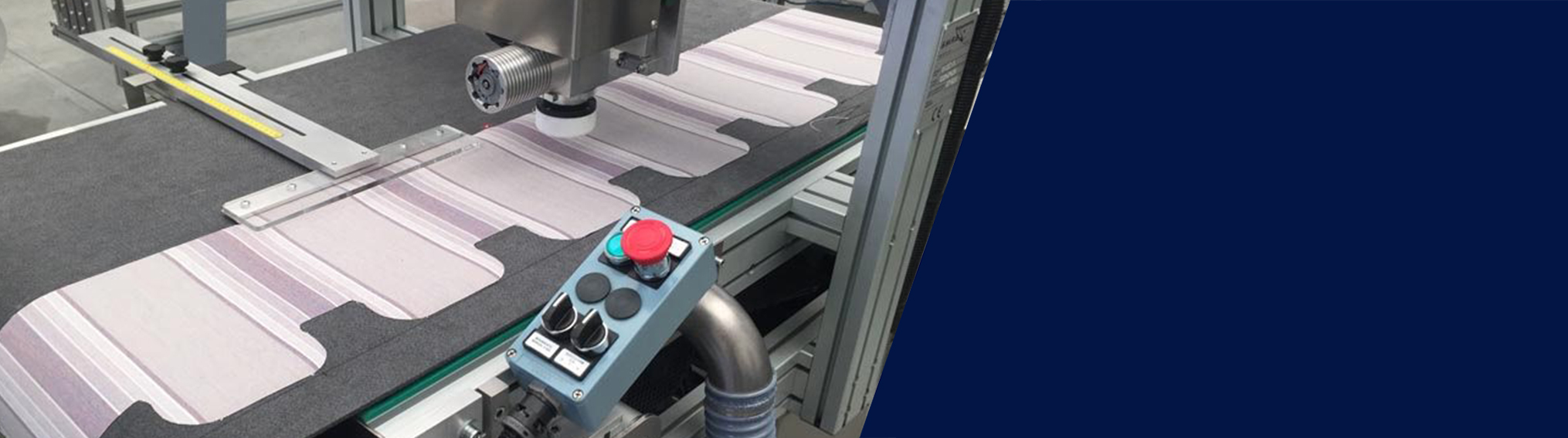 Machines for Sun Protection – Cutting machines - SM-355-TA Awning Valance Cutting Machines – Header Banner
