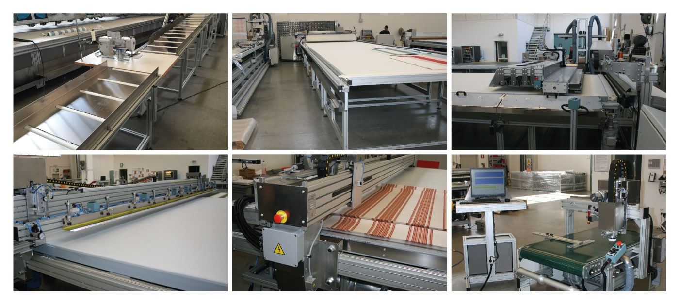 Machines for Sun Protection – Case Studies  – Complete Awnings Production Line - Image-1